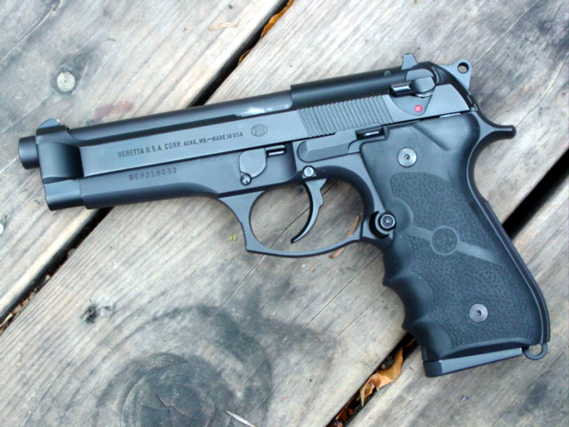 the BrickGun Beretta 92