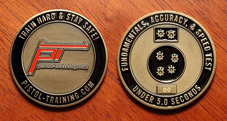 pistol-training com » Blog Archive » F A S T  Challenge Coins